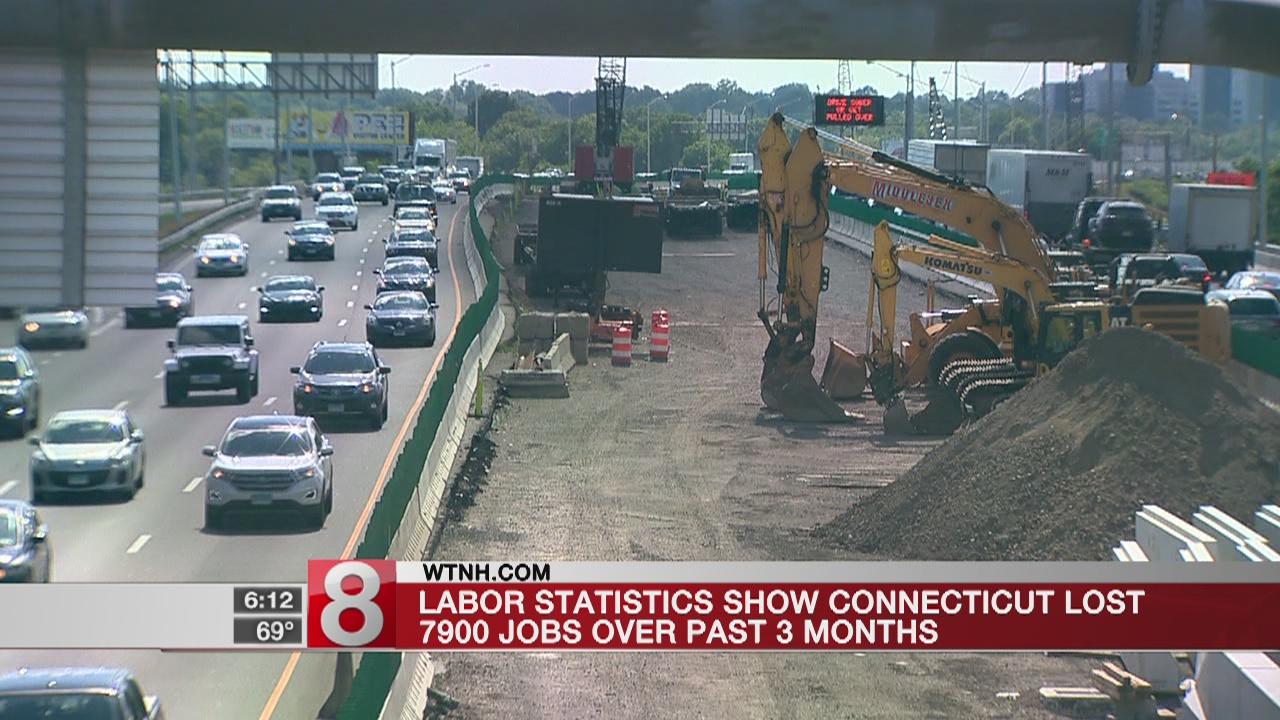 Connecticut budget impasse blamed for job losses