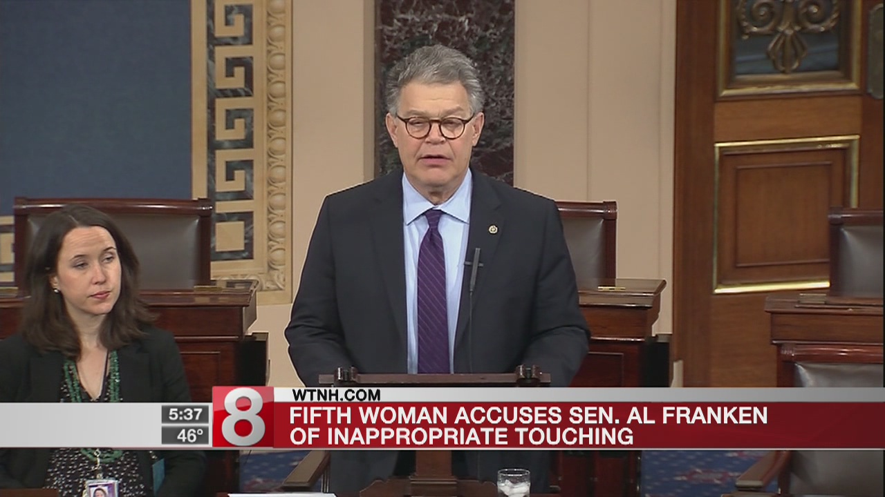 Army veteran says Franken groped her during USO tour in 2003