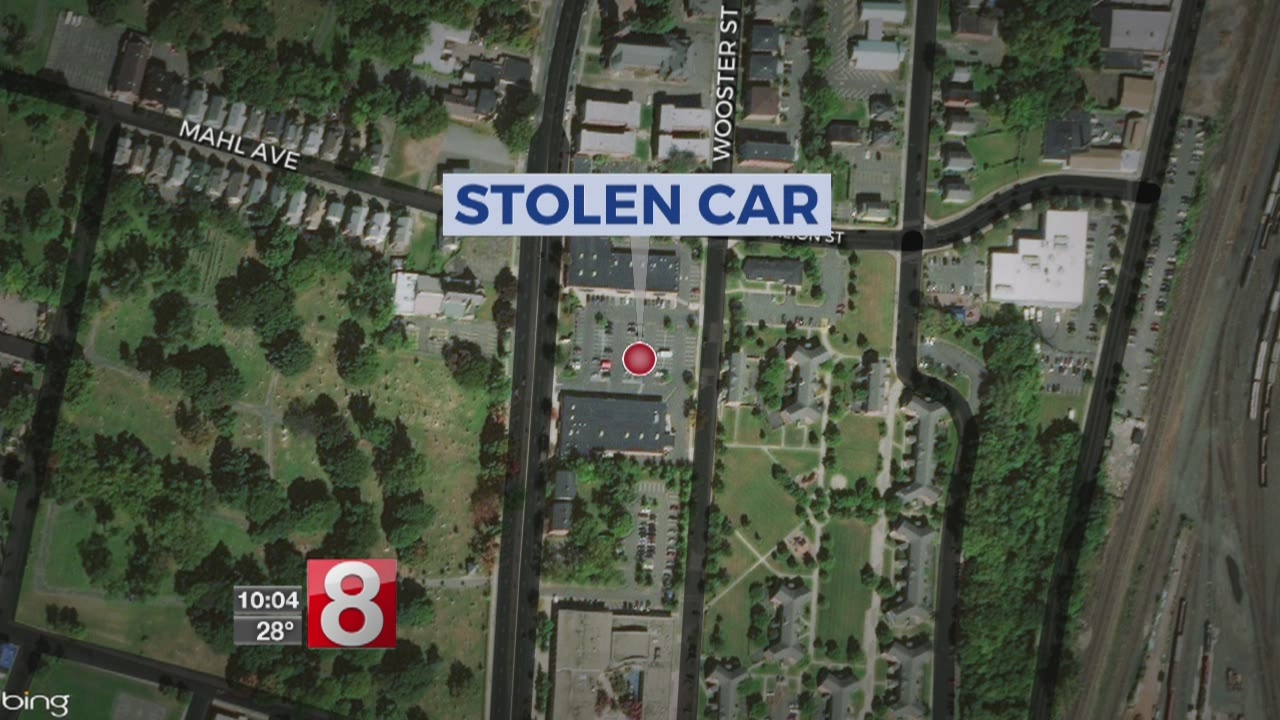 1-year-old boy found safe after being left in stolen car