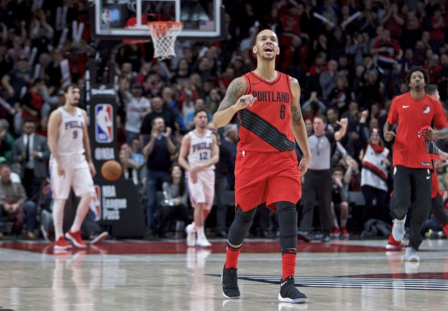 the best attitude 17827 4b88e Former UConn guard Shabazz Napier has found his way in the NBA