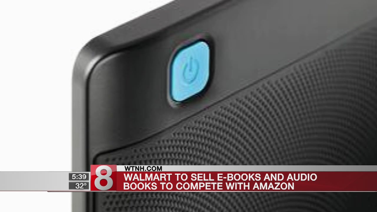 Walmart to sell e-books to compete with Amazon