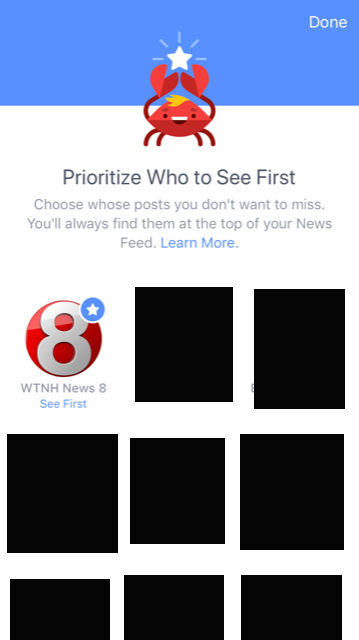 Tutorial: Facebook 'See First' on Your Facebook App – WTNH com
