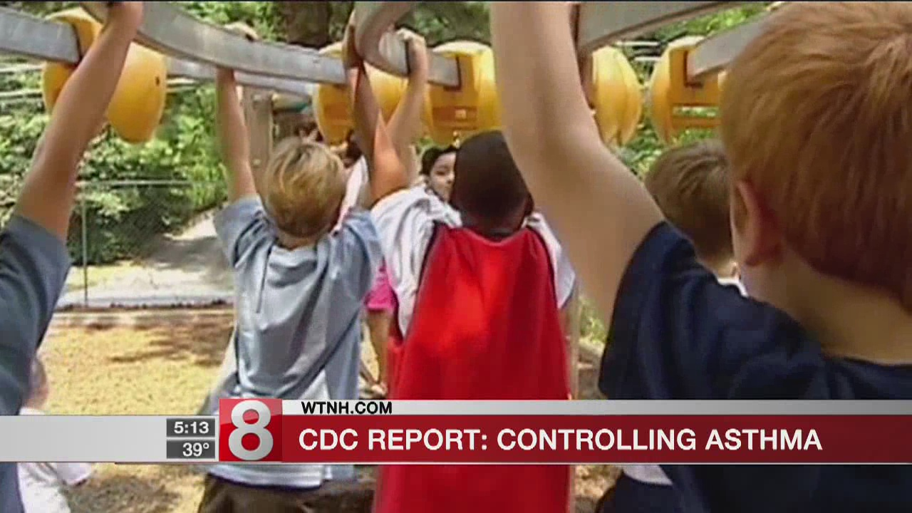 CDC studies controlling asthma in children
