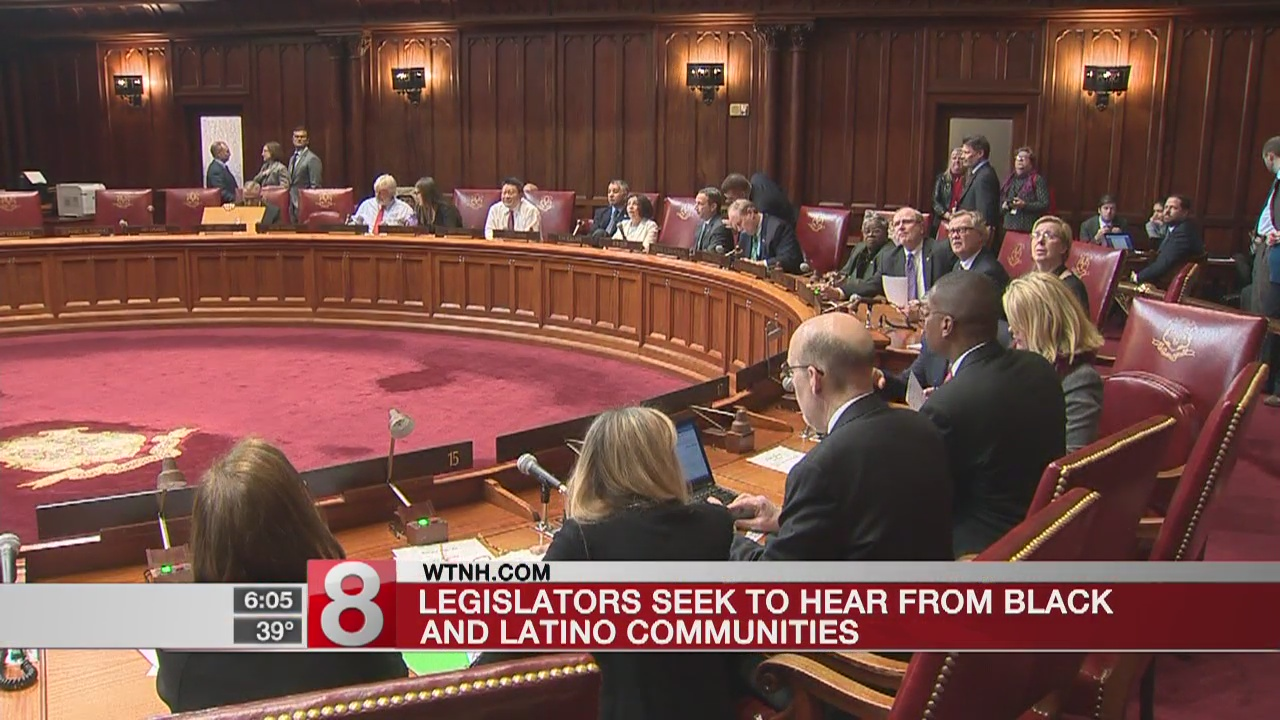 Legislators seek to hear from black and Latino communities