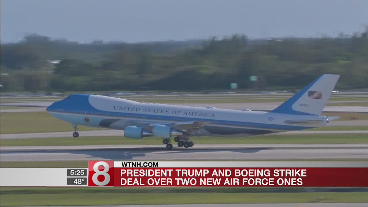 President Trump, Boeing reach deal over two Air Force Ones