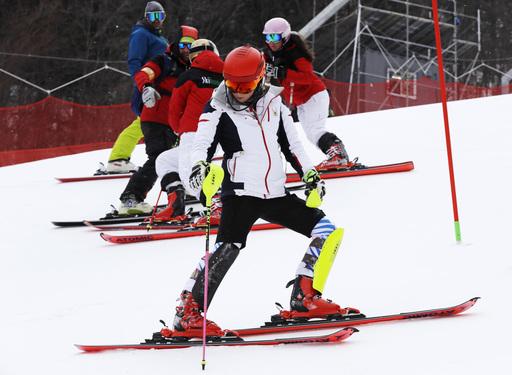 Pyeongchang Olympics Alpine Skiing_622356