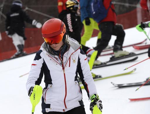 Pyeongchang Olympics Alpine Skiing_622961