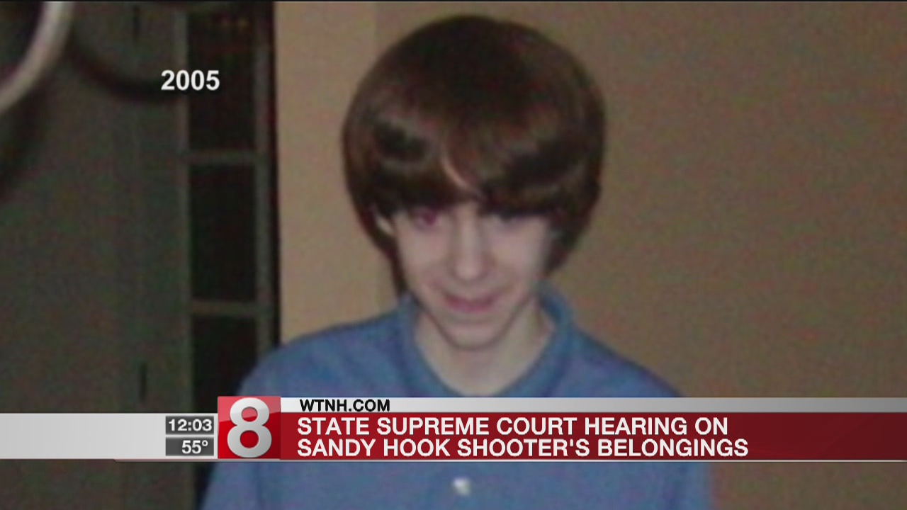 CT Supreme Court hears arguments on Newtown shooter's belongings