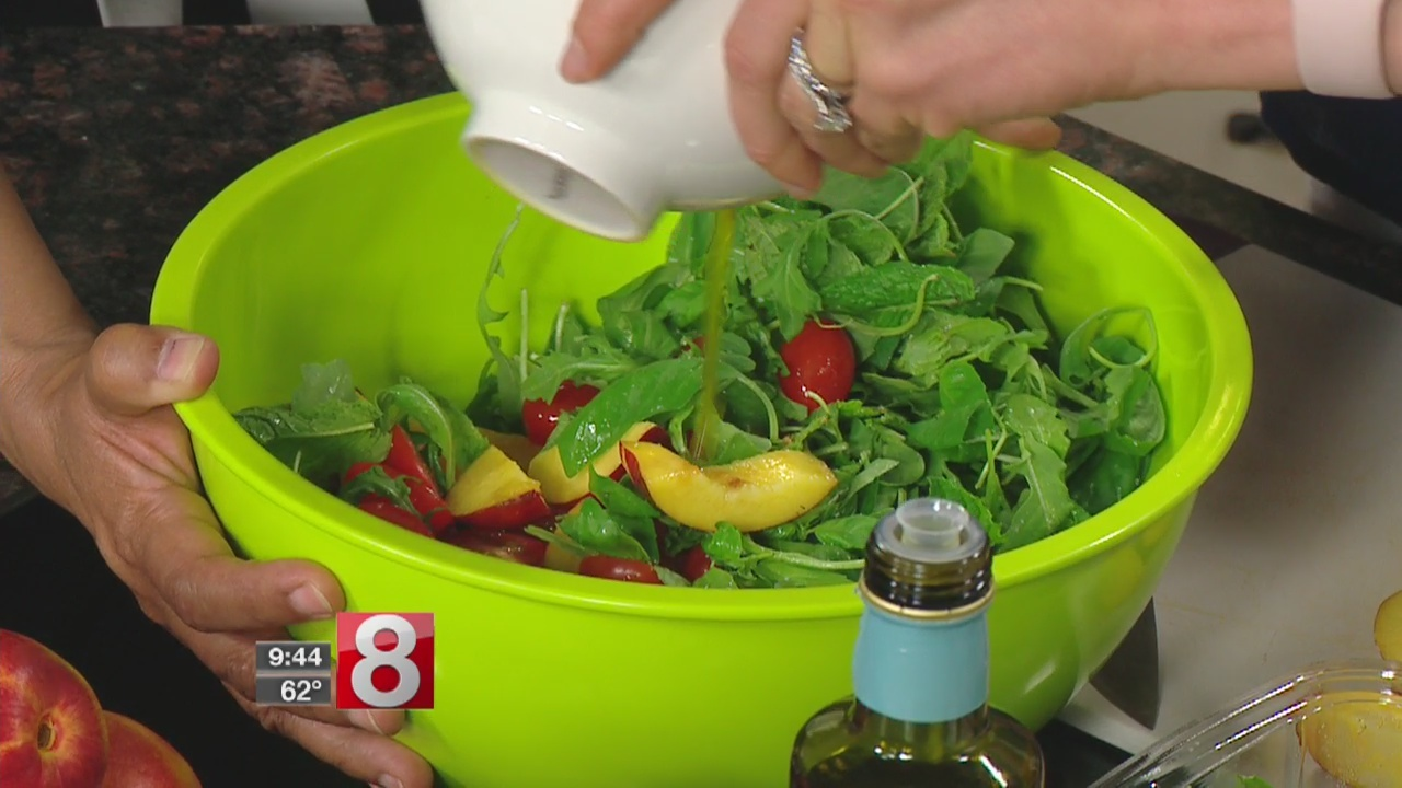 8 Minute Meals: summer salads for Memorial Day Weekend