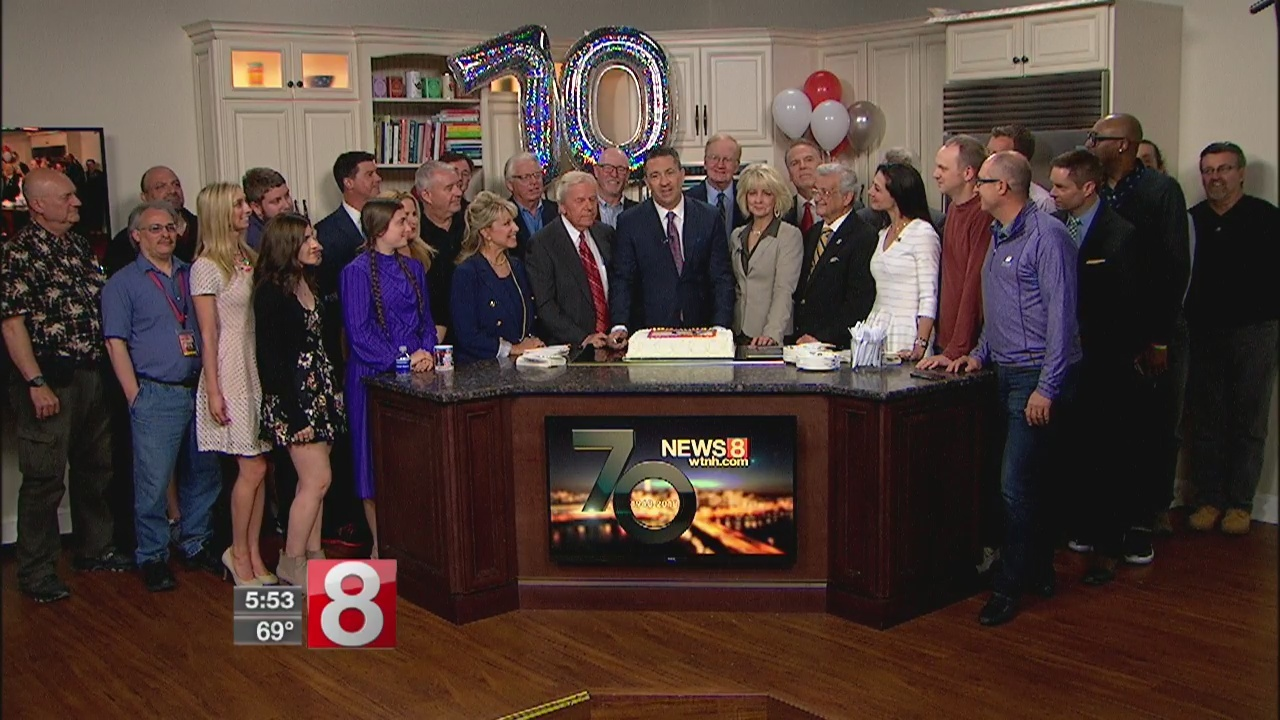 THANK YOU for watching News 8 for the past 70 years!