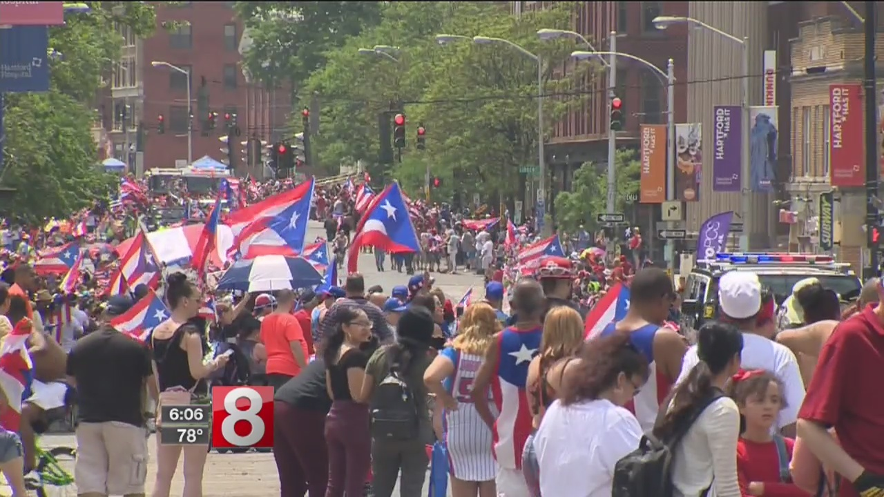 Thousands gather for Puerto Rican parade in Hartford