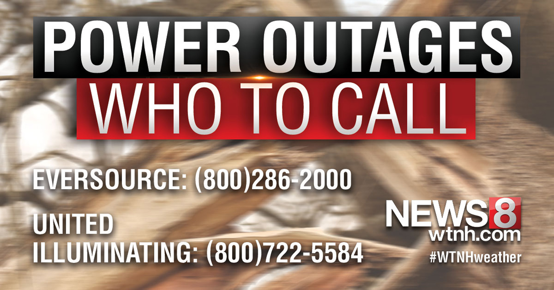 Power Outages | WTNH com