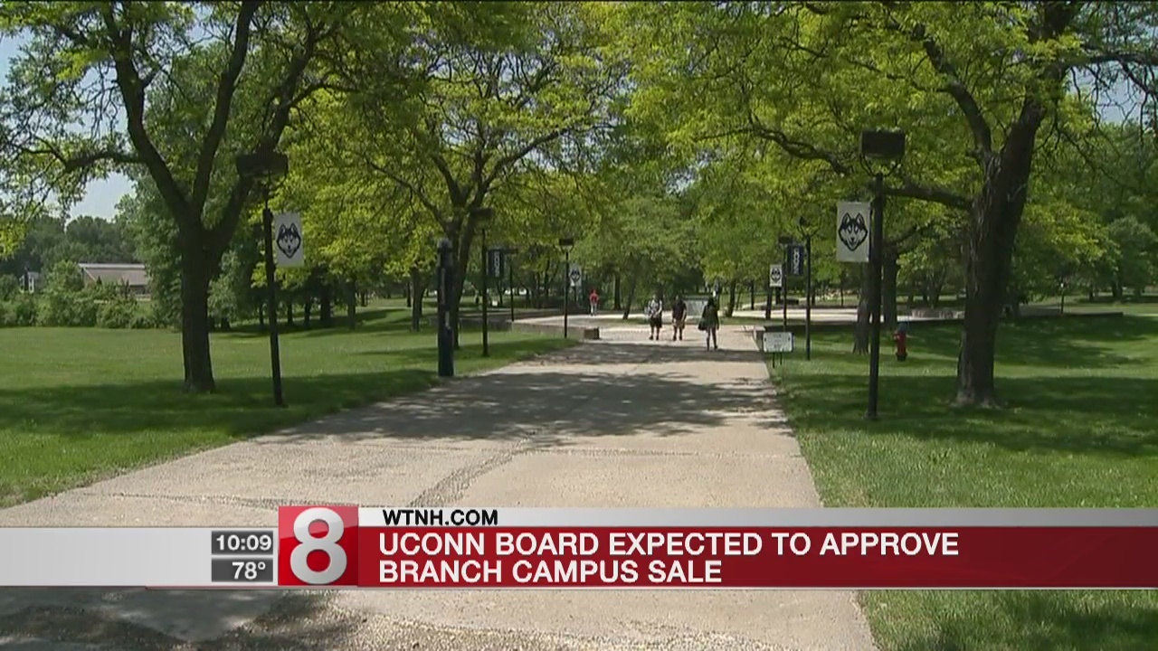 UConn board expected to approve branch campus sale