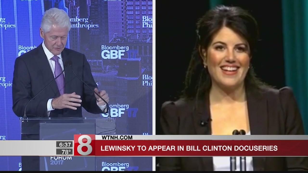 Monica Lewinsky to appear in Bill Clinton docuseries