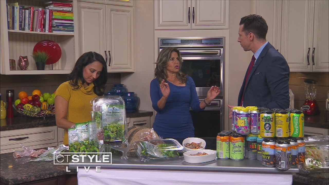 In the Bender Kitchen: GotMeals cooks Carmelized Balsamic Brussel Sprouts with Bacon