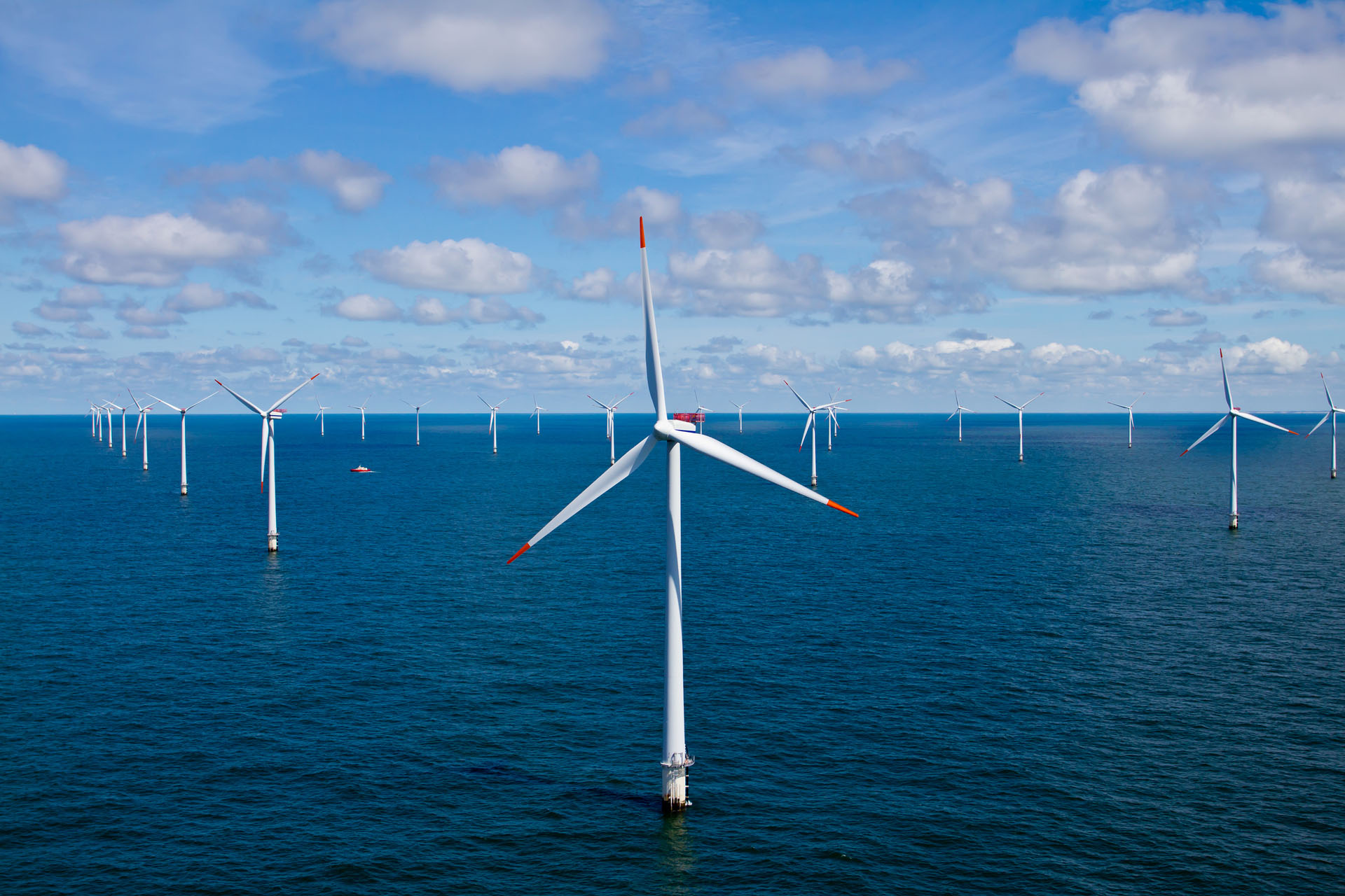 offshore wind turbine windmill