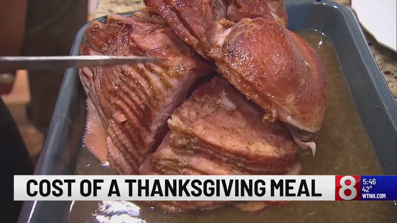 Average Thanksgiving meal cost down for third year
