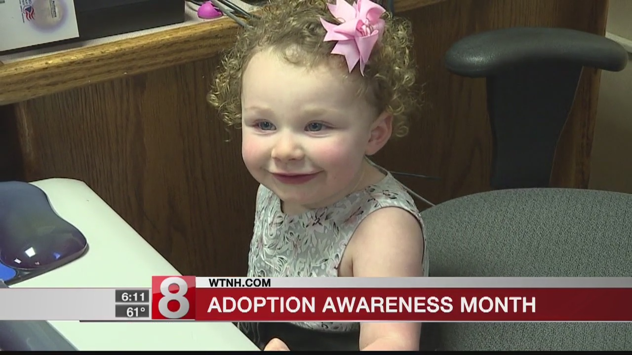 Connecticut celebrates Adoption Awareness Month