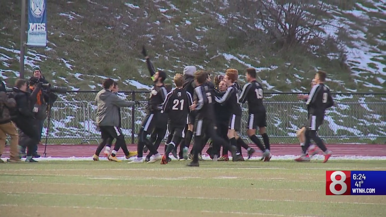Daniel Hand wins 3rd boys soccer title in a row with 1-0 win over Maloney of Meriden