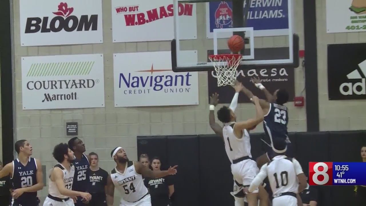 Yale hits 15 3-pointers, buries Bryant 103-61