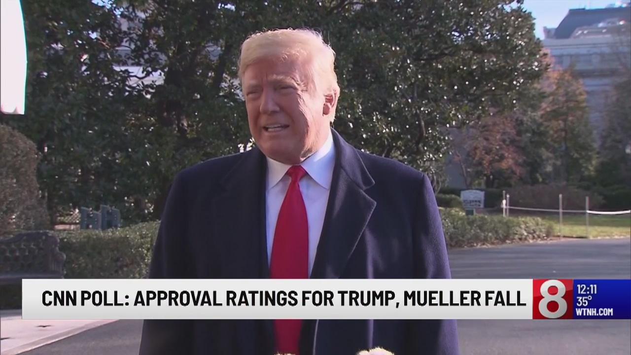 CNN Poll: Approval ratings for Trump, Mueller fall