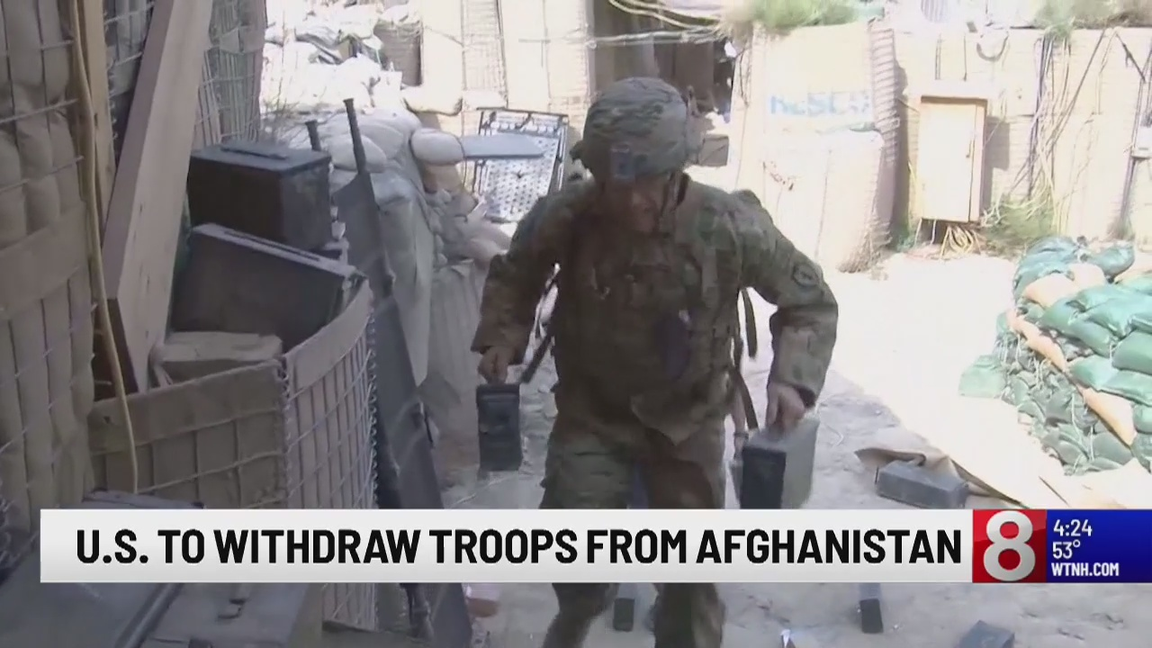 Officials: American troops to be pulled from Afghanistan