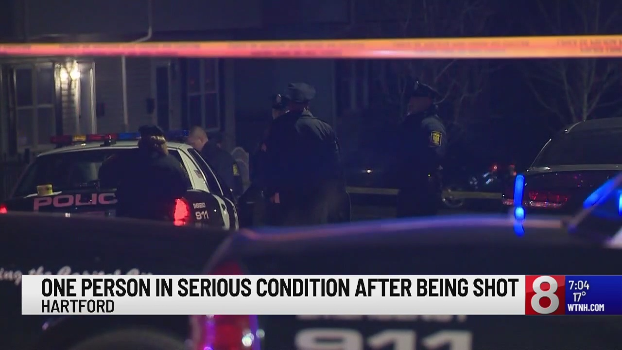 Police respond to shooting in Hartford
