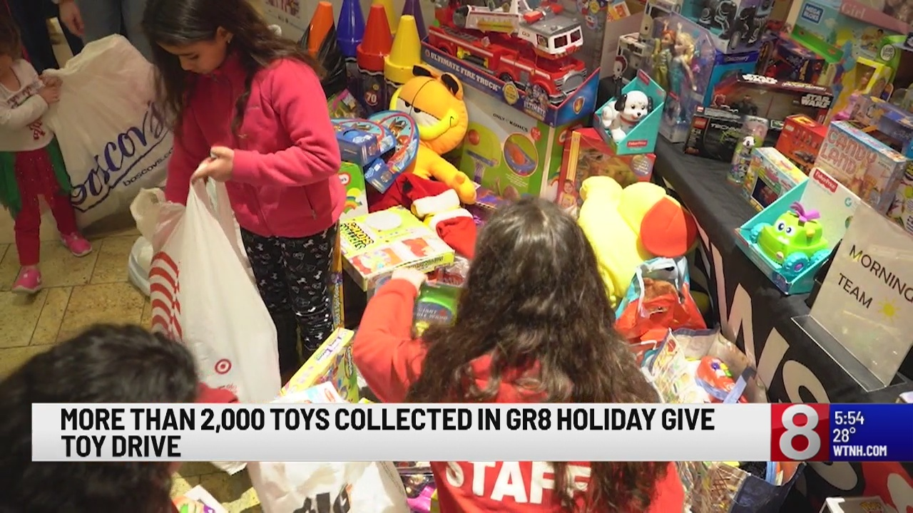 The final tally is in for the GR8 Toy Drive!