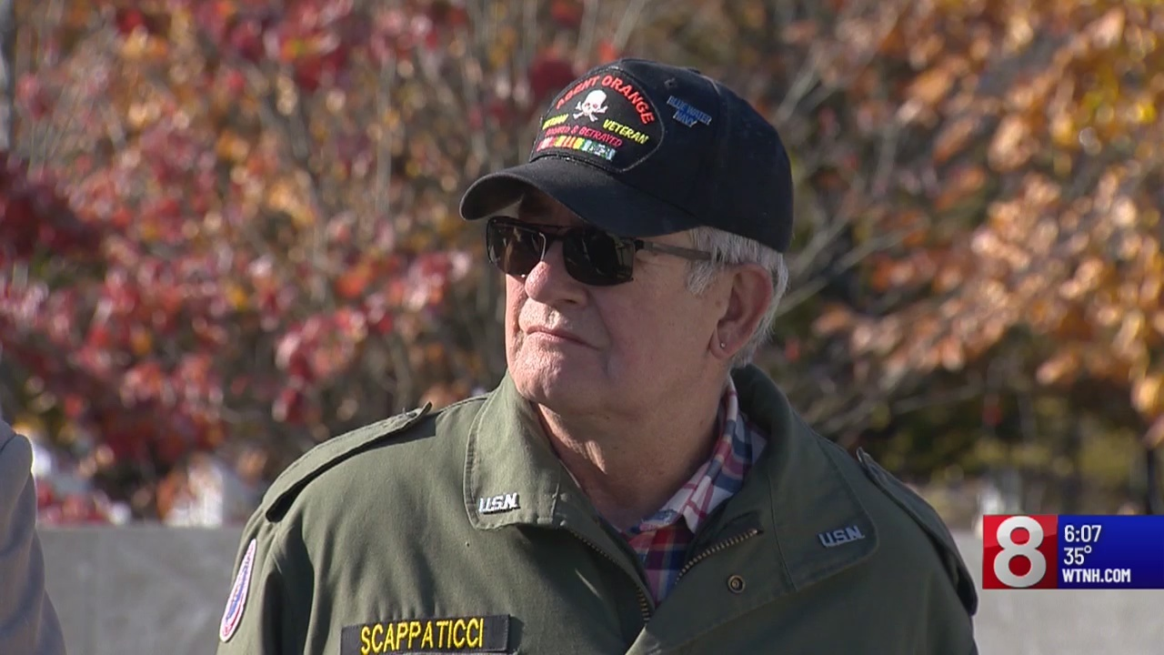 "Connecticut Blue Water Vet; ""It's a slap in the face"""