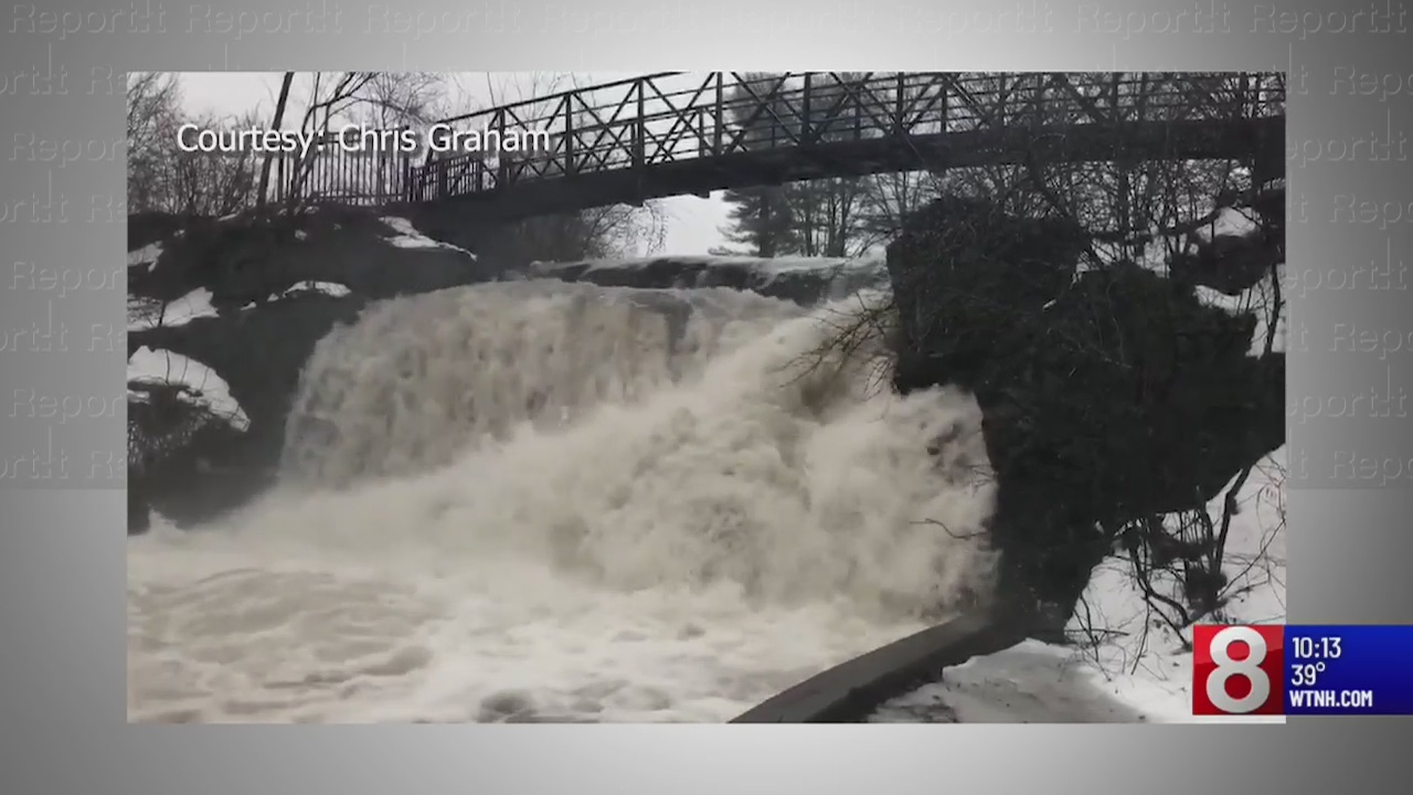 Heavy rain, strong wind gusts strike Connecticut on Thursday