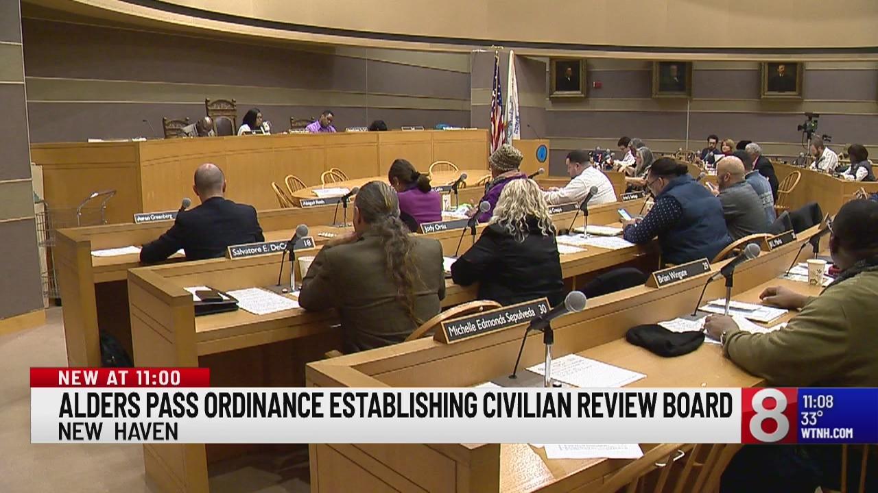 New Haven Board of Alders passes ordinance establishing Civilian Review Board