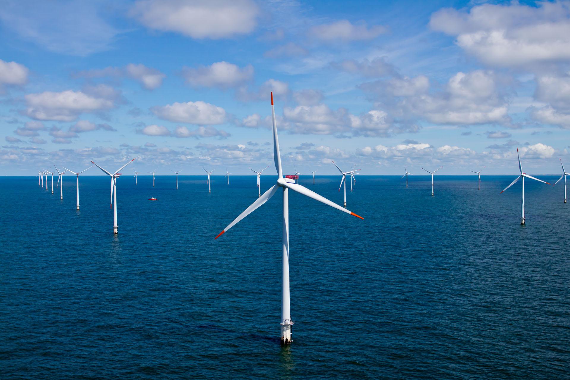 offshore wind turbine windmill