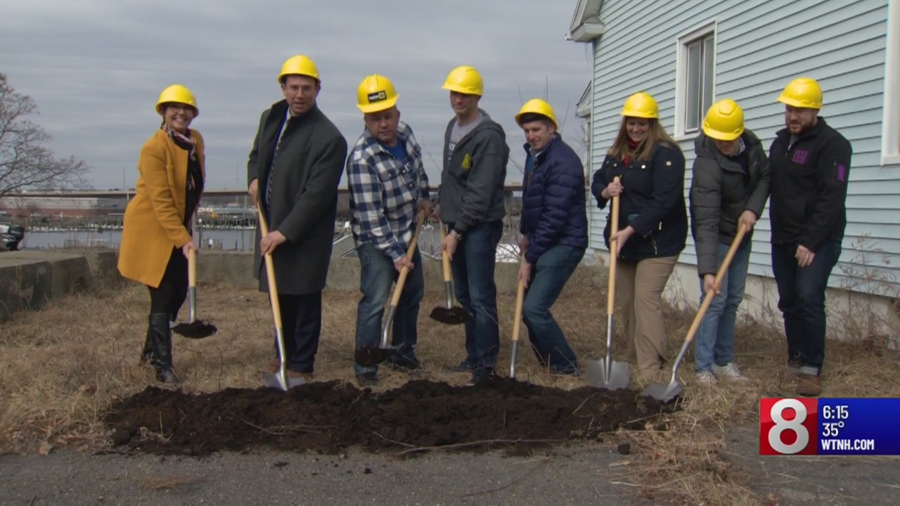 Ground broken at future Milford brewery that will accommodate boaters