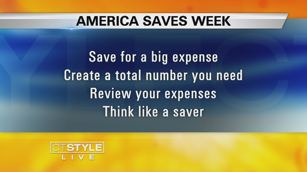 Luke Frey from the Better Business Bureau gets us ready for 'America Saves Week'