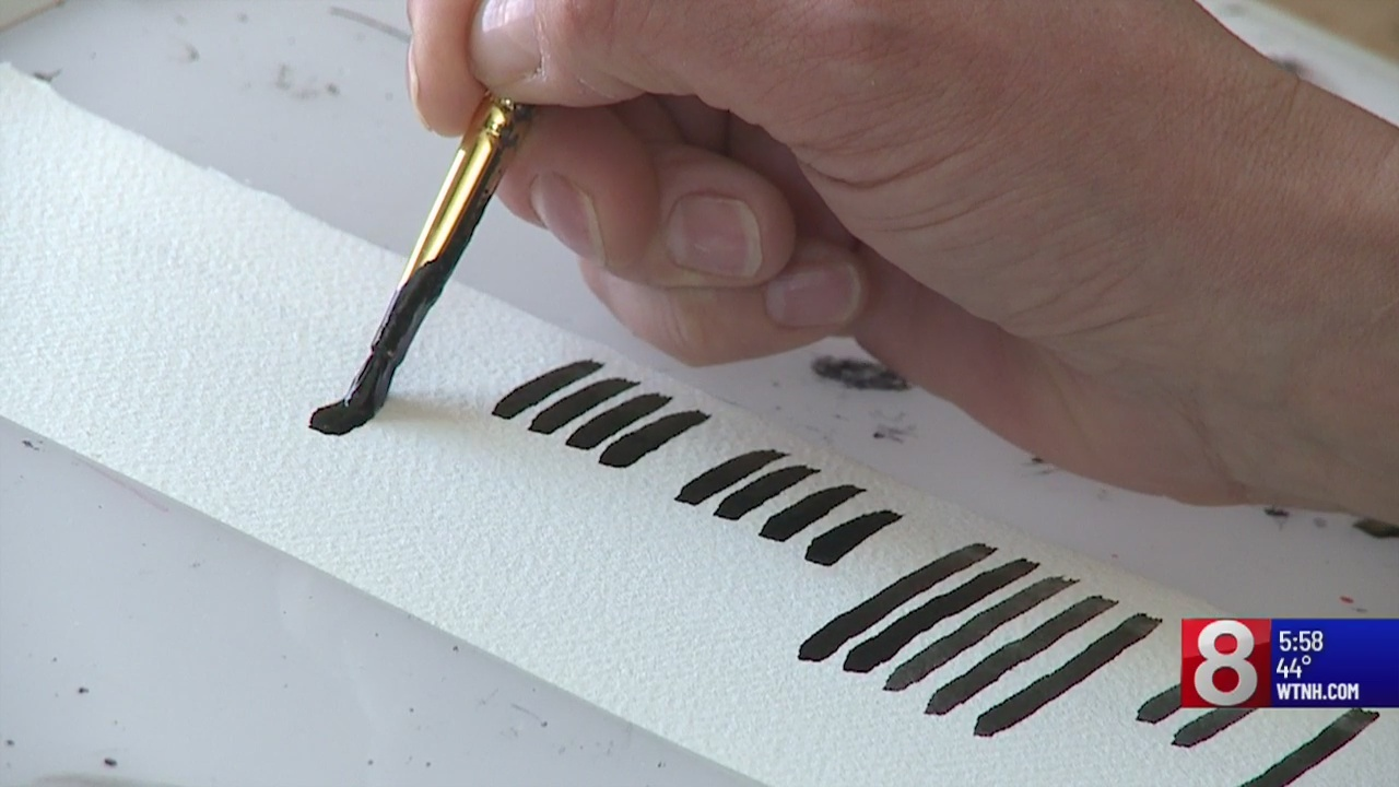 Connecticut woman breathes new life into old language through artwork