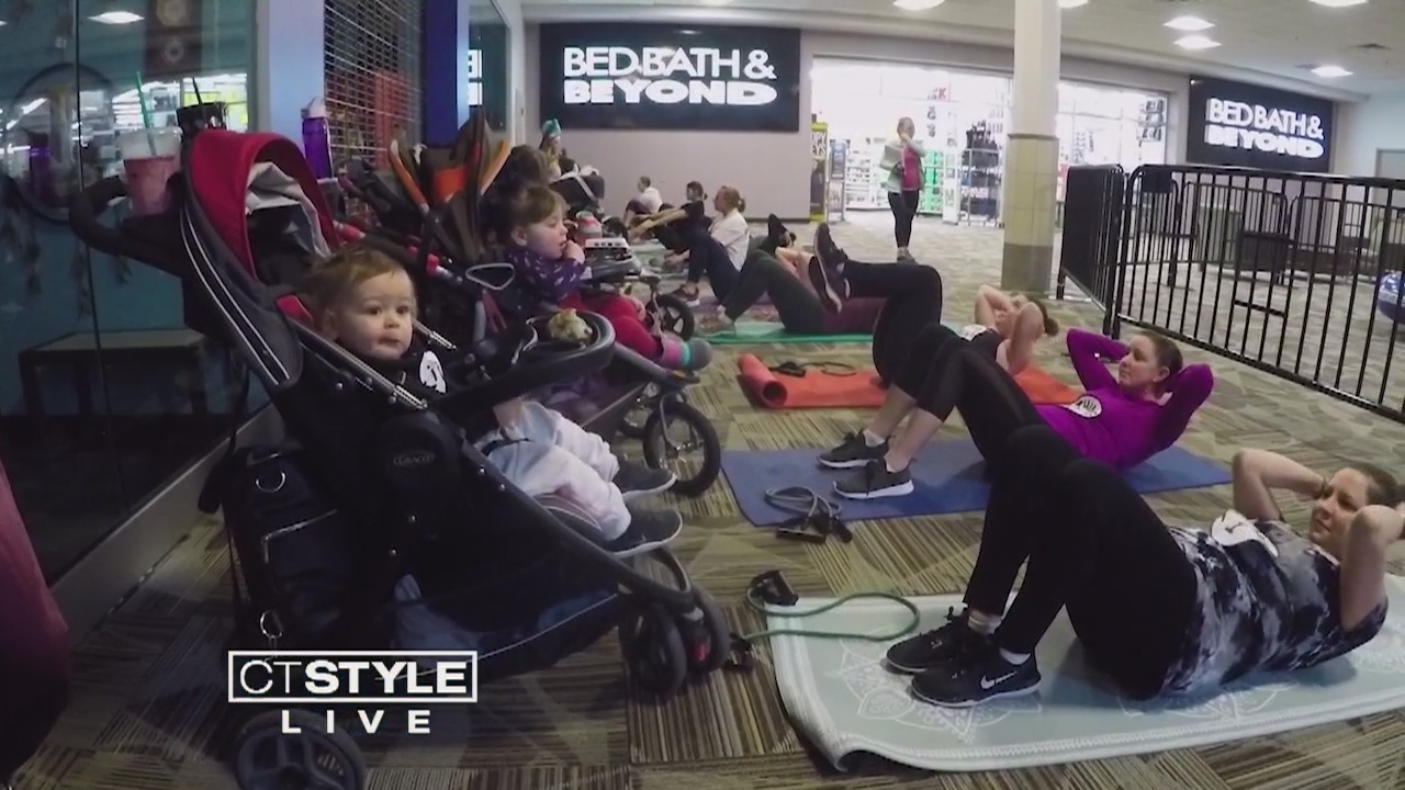 Living Well: Stroller Strides Class Keeps Moms Fit