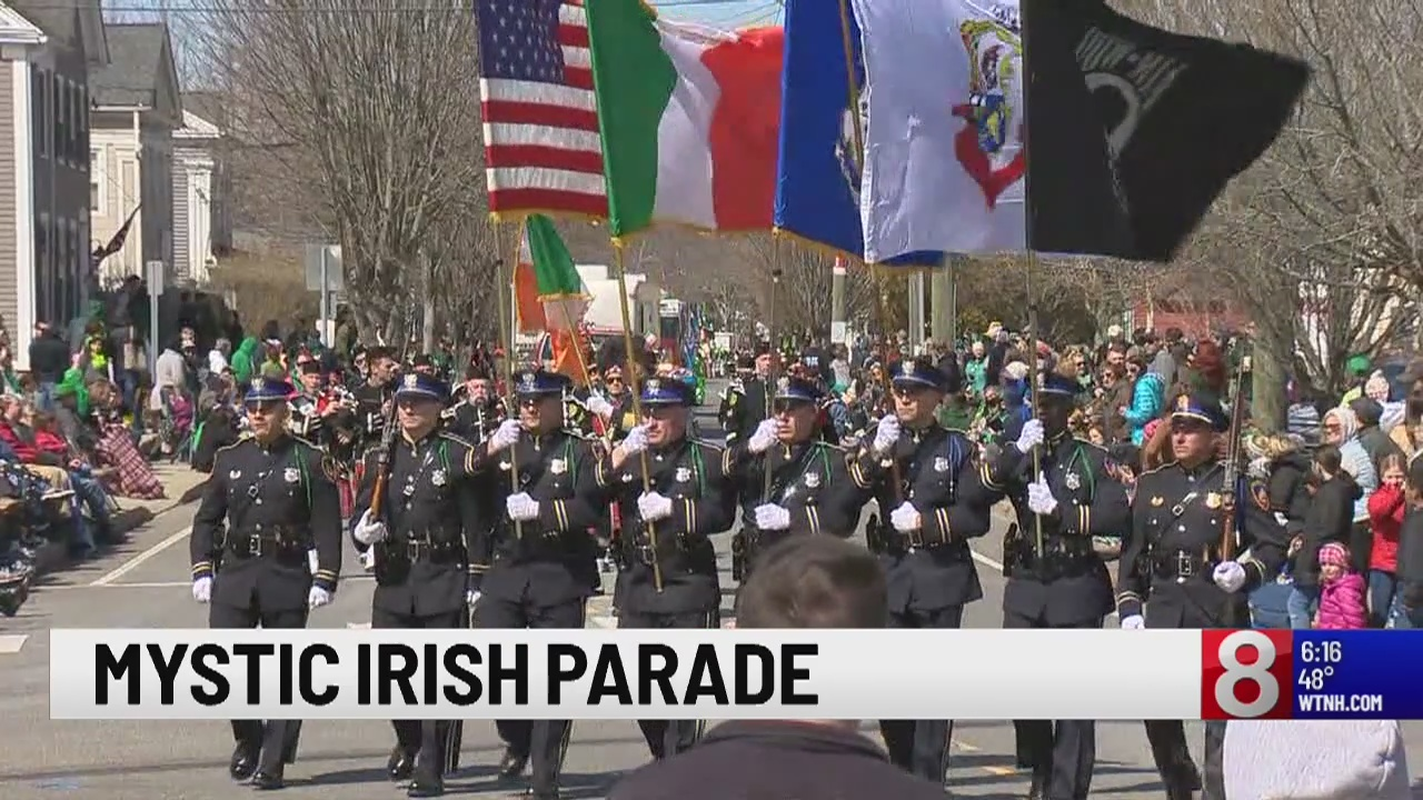 Mystic Irish Parade held Sunday afternoon