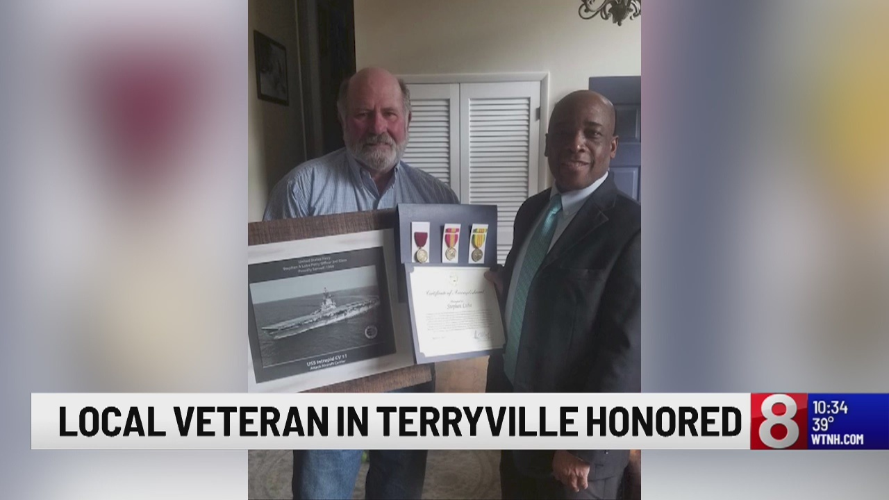 Terryville Vietnam Veteran finally receives medals for his service