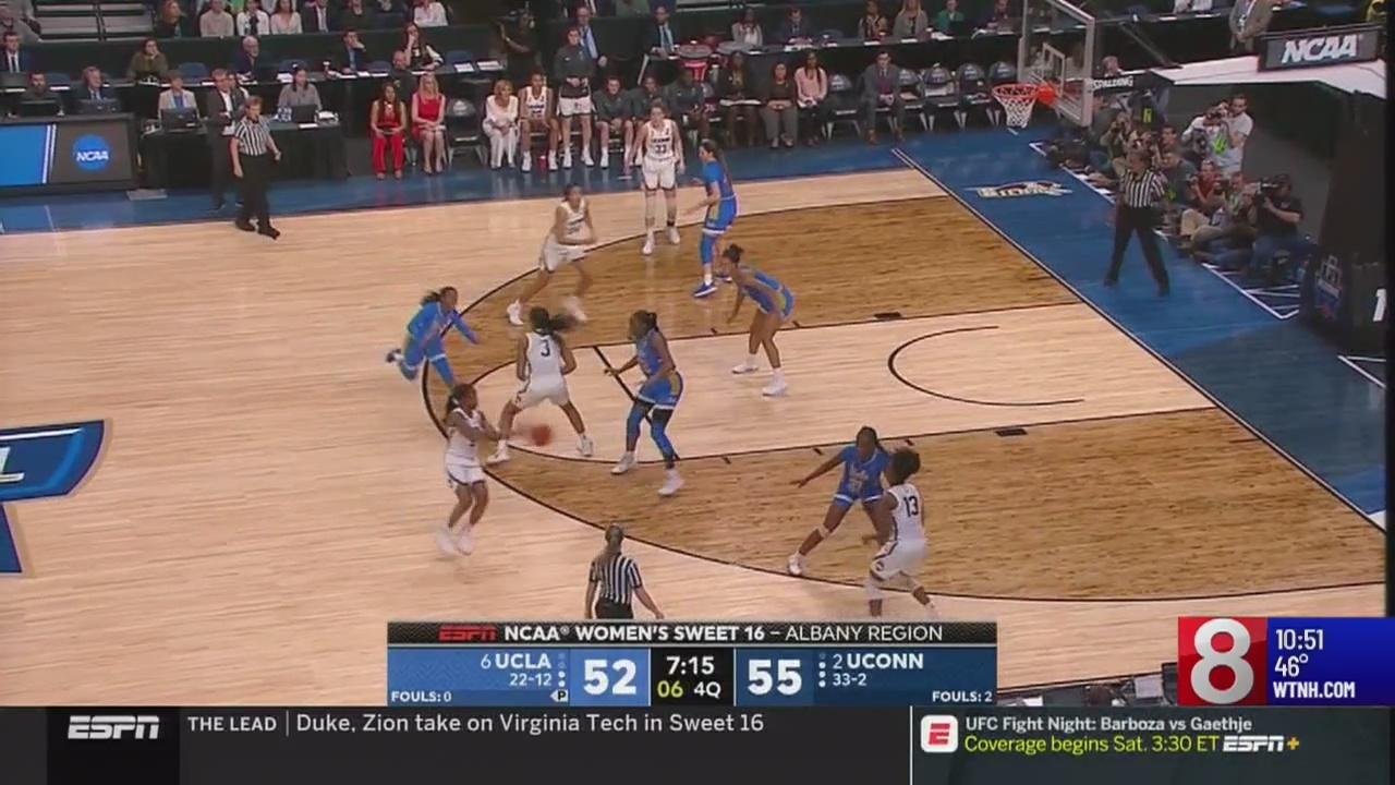 UConn narrowly defeats UCLA Friday night