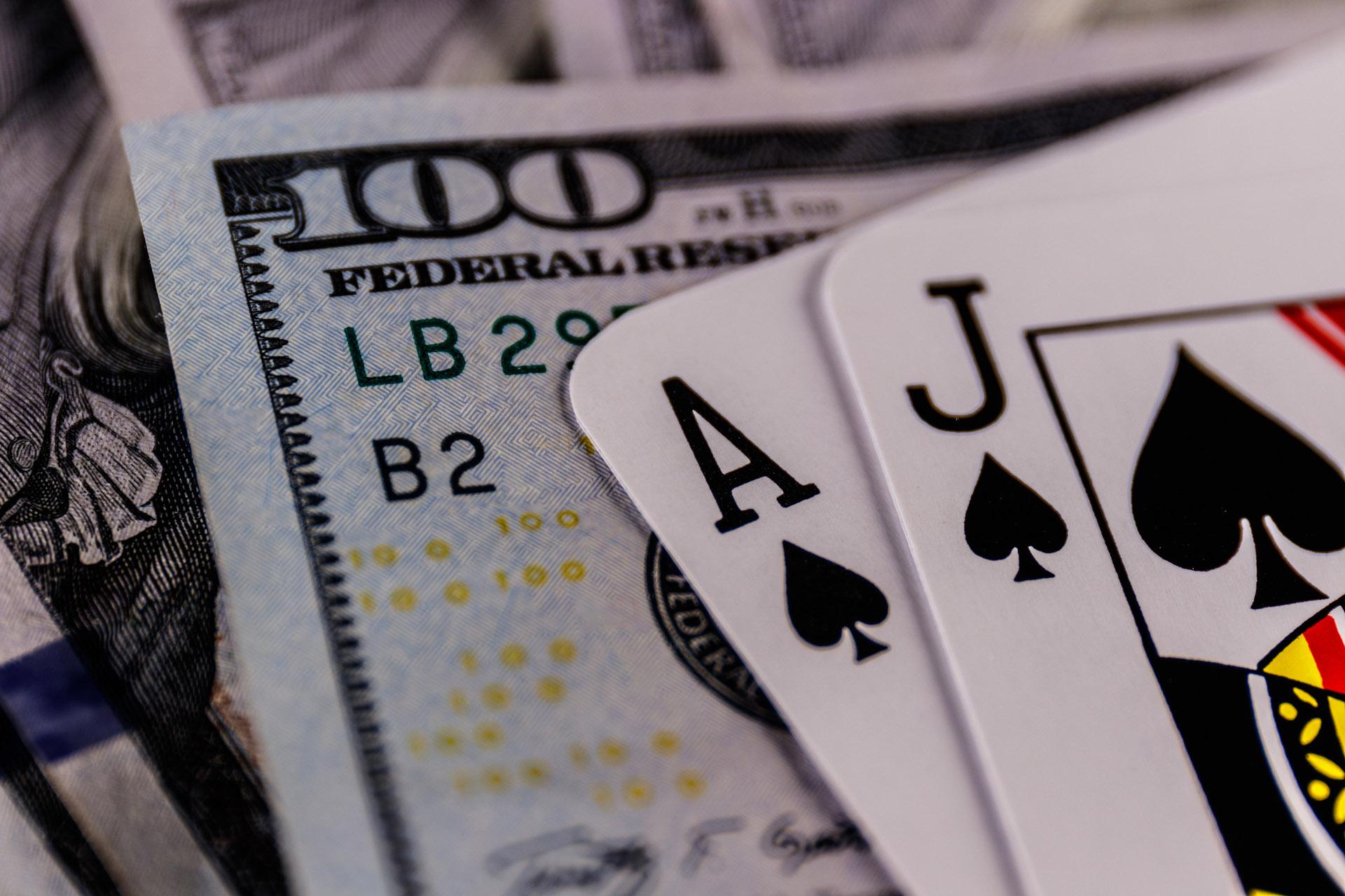 Blackjack 21 Gambling Gaming Cards