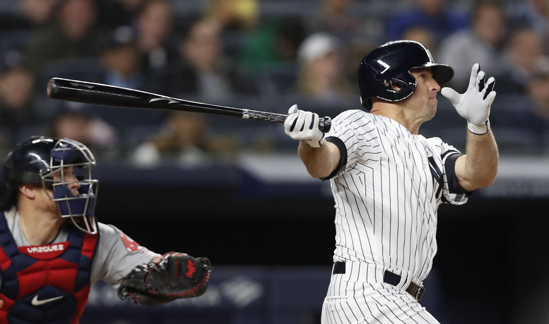 Red Sox Yankees Baseball Brett Gardner