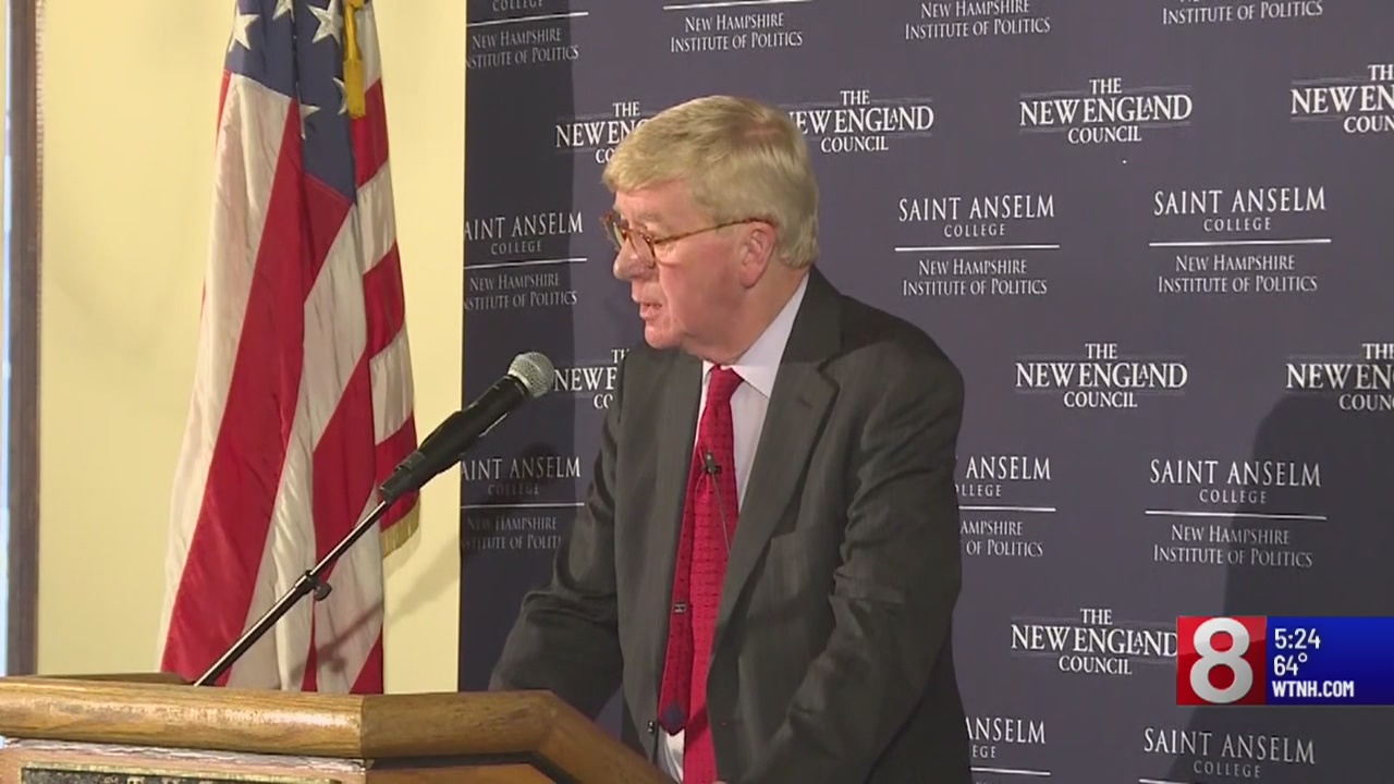 Bill Weld steps up as Trump's first Republican challenger in the 2020 election