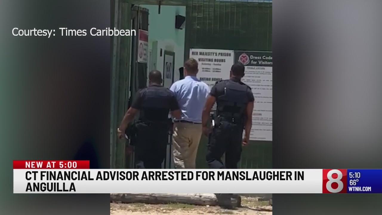 Connecticut financial adviser arrested for manslaughter in