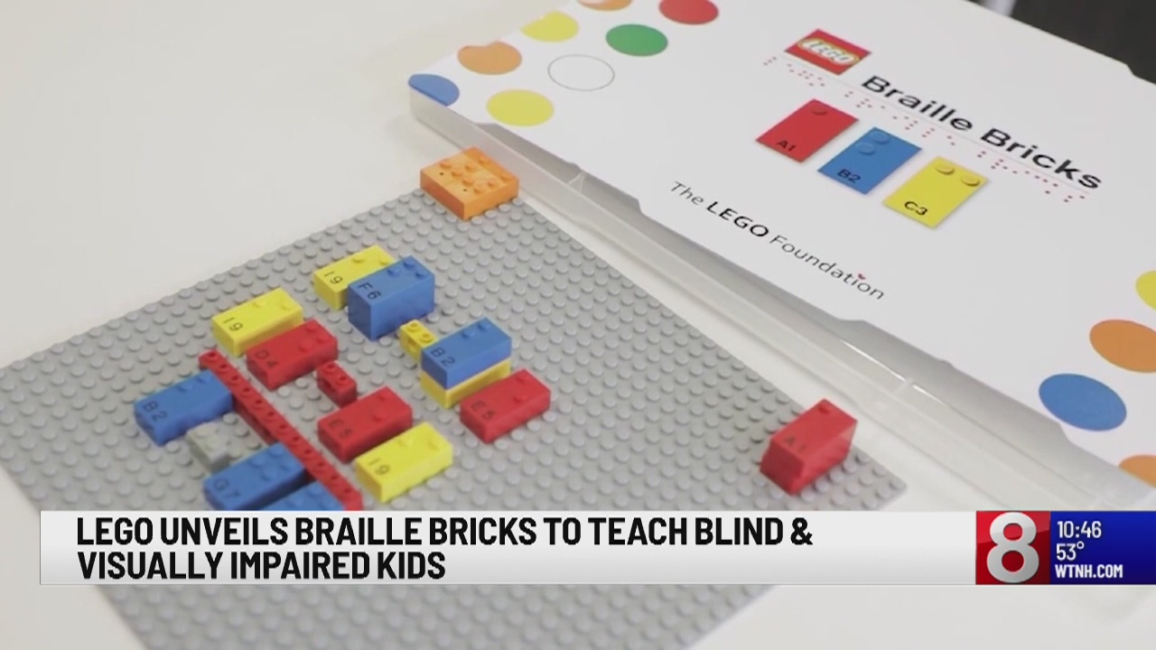 Lego to debut braille bricks for visually impaired children