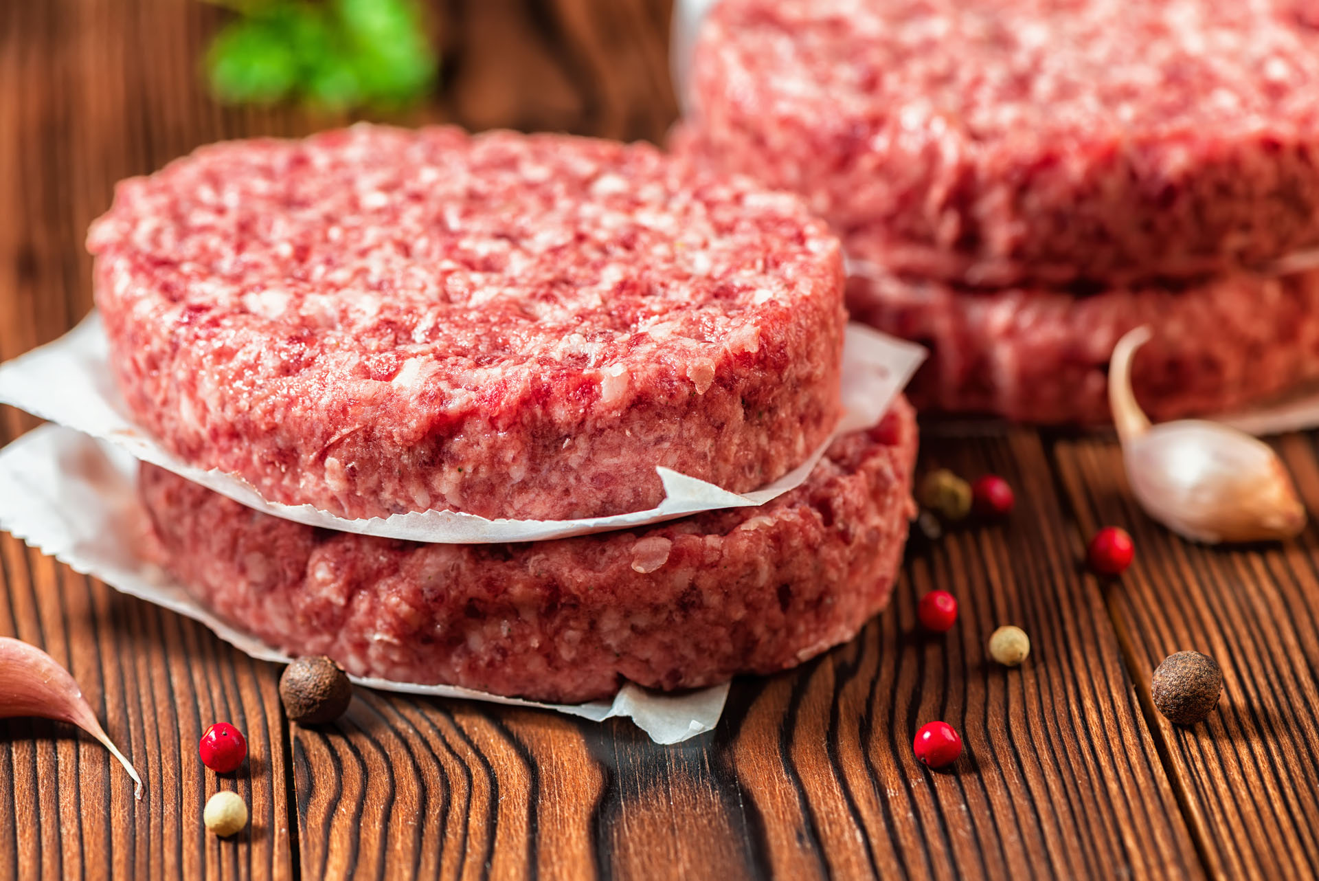 Raw Beef Meat generic stock