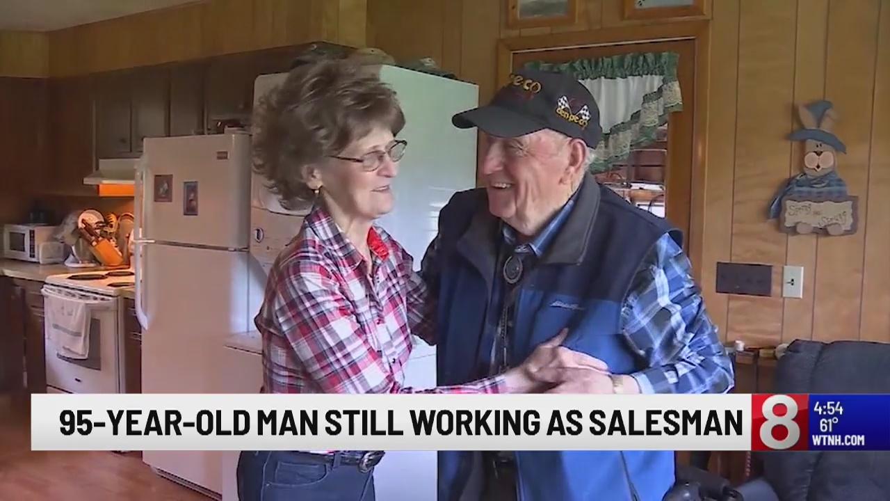 95-year-old Camden man continues successful run as oil salesman