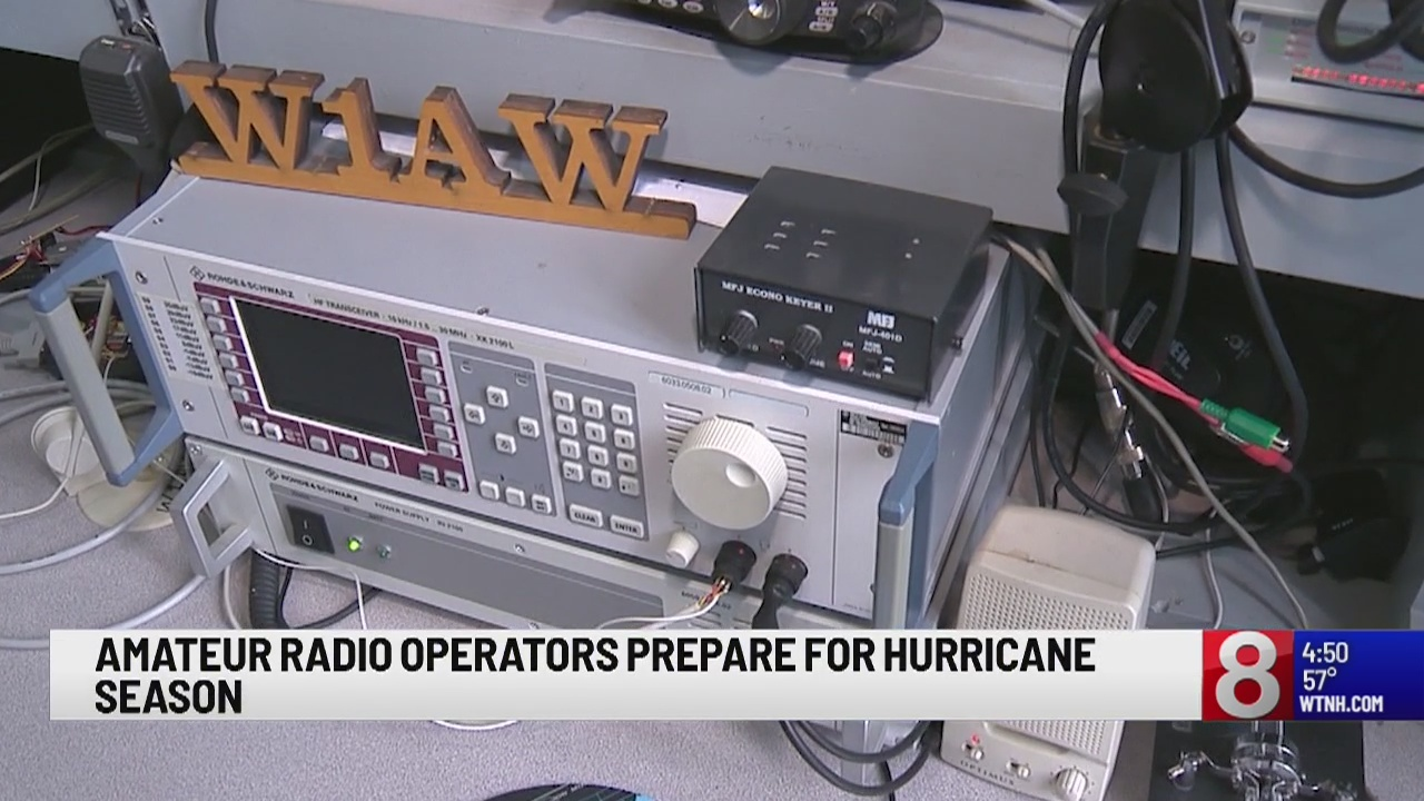 Amateur radio operators prepare for hurricane season