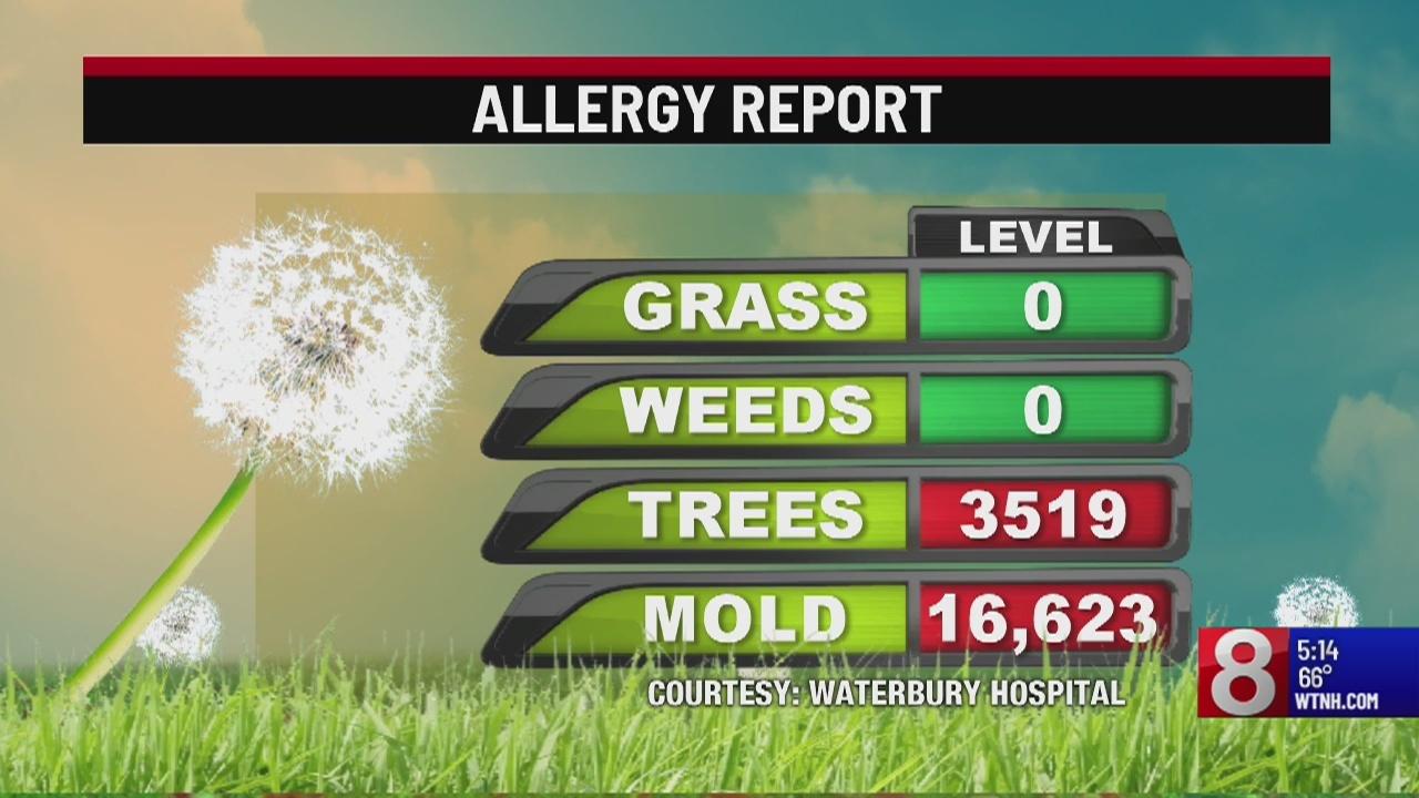 High pollen counts