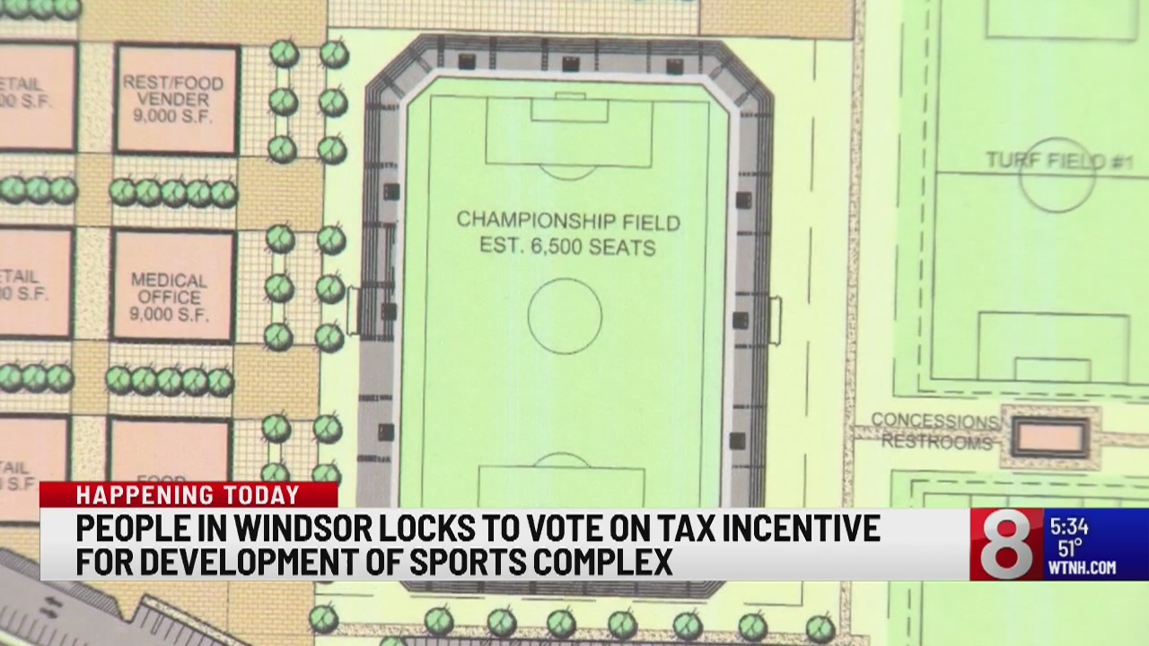 Proposed Windsor Locks athletic facility has neighbors questioning impact