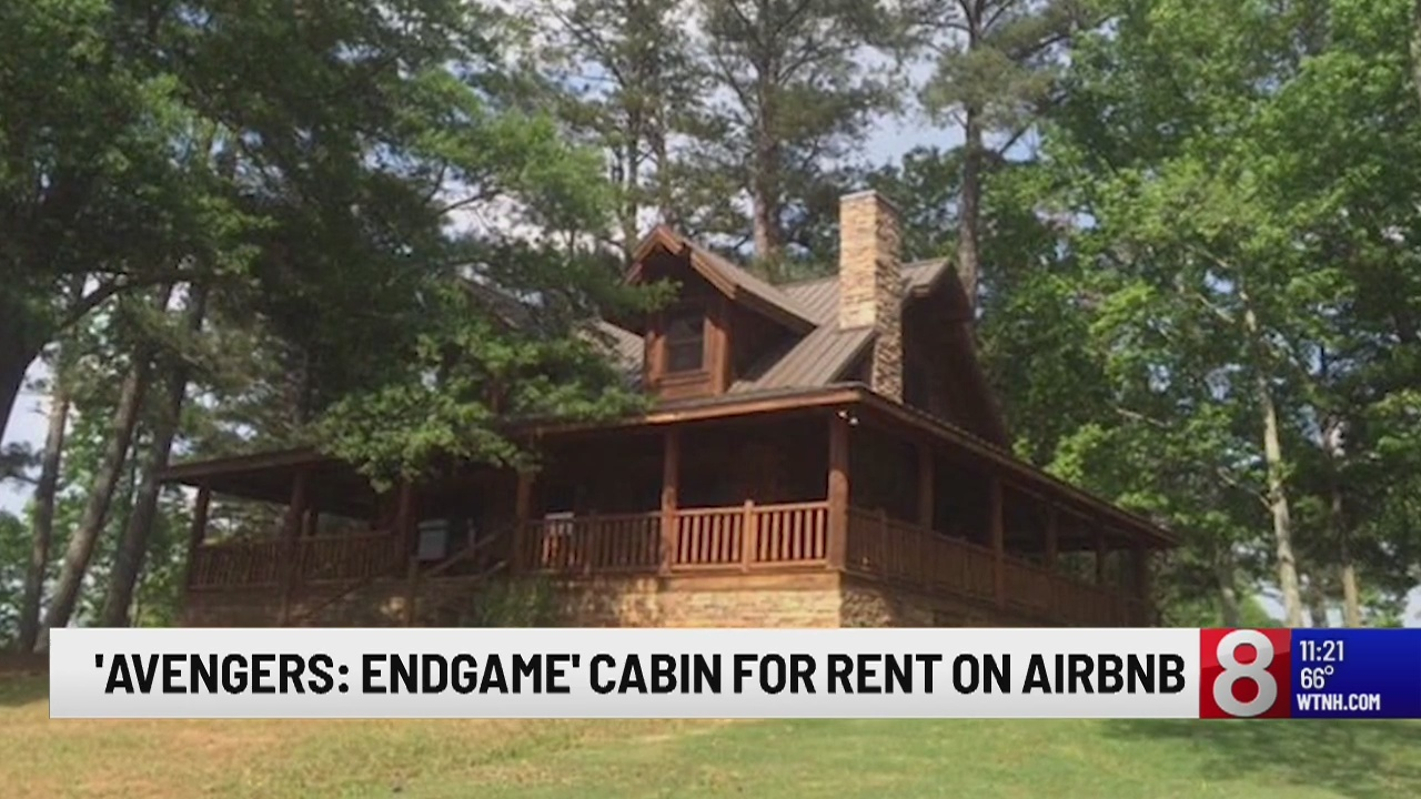 Cabin from 'Avengers Endgame' available on AirBnB